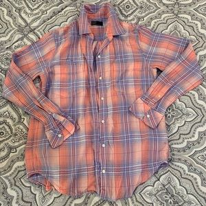 Gap Button-Up Plaid